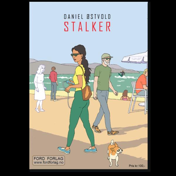 Forside til tegneserieheftet «Stalker» av Daniel Østvold (ISBN 978-82-93512-09-7)