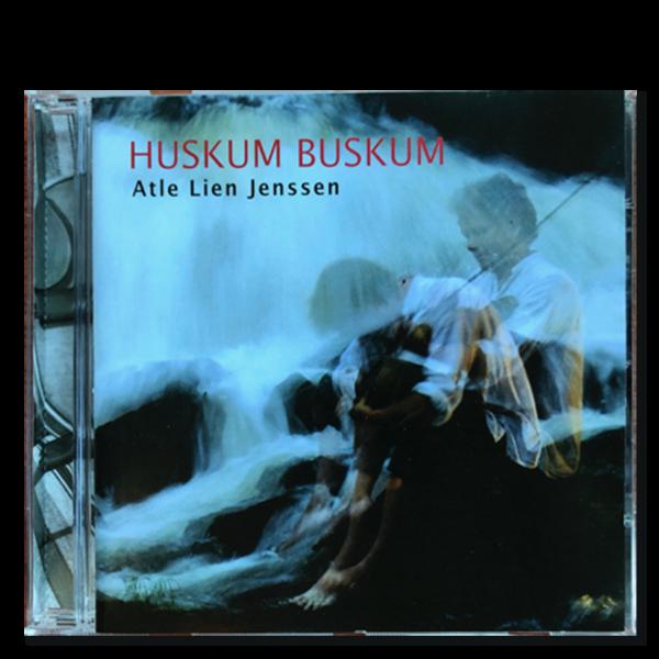 Forside til CD-en «Huskum Buskum» av Atle Lien Jenssen
