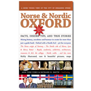 Forside til «Norse & Nordic Oxford» av Ann-Turi Ford og Richard O. Smith (ISBN 978-82-93512-00-4)