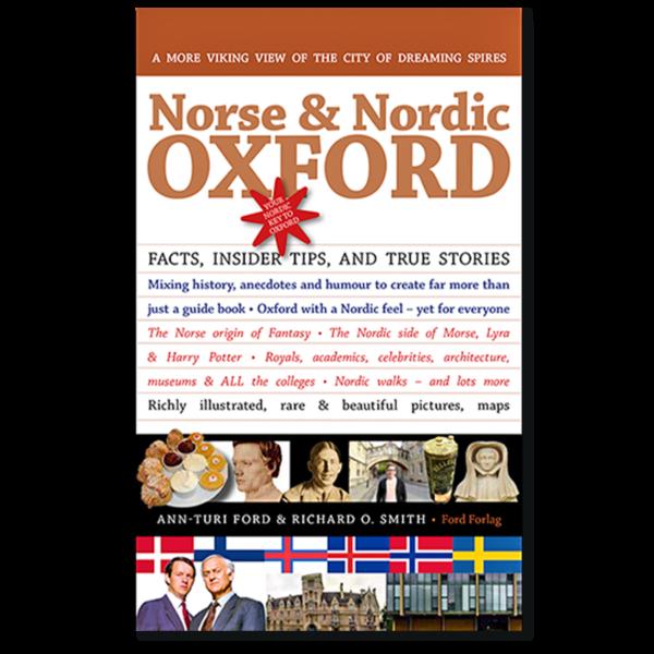 Forside til «Norse & Nordic Oxford» av Ann-Turi Ford og Richard O. Smith (ISBN 978-82-93512-00-4)