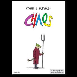 Forside til tegneserieheftet «Chaos» av Daniel Østvold (ISBN 978-82-93512-08-0)
