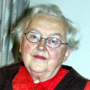 Portrett av forfatter Aud Ragna Gulbjørnrud