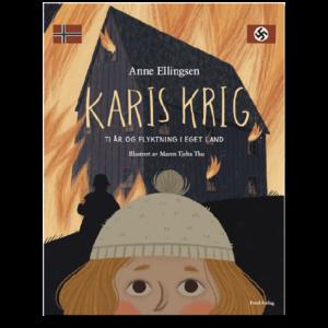 Forside til «Karis krig» av Anne Ellingsen (ISBN 978-82-93512-20-2)