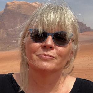 Portrett av forfatter Kathrine Geard