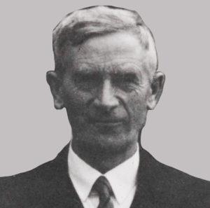 Portrett av folkemusikkinnsamler O.M. Sandvik