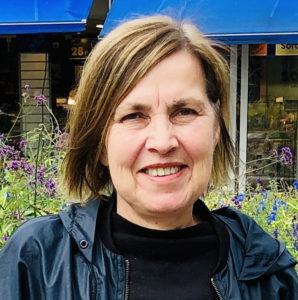 Portrett av forfatter Vibeke Borgersen